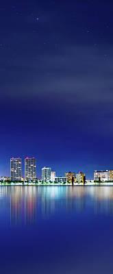 Photograph - West Palm Beach Skyline by Mark Andrew Thomas