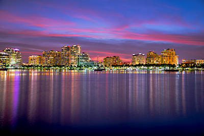 Photograph - West Palm Sunset by Jody Lane