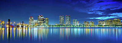 Photograph - West Palm Twilight  by Mark Andrew Thomas
