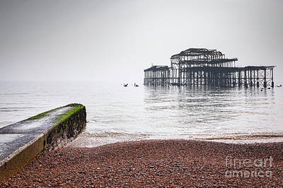 Photograph - West Pier At Brighton 2 by Colin and Linda McKie