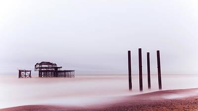 Photograph - West Pier Brighton I by Angela Devaney
