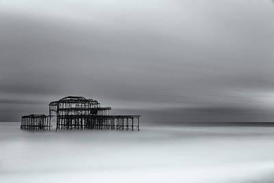 Photograph - West Pier Brighton II by Angela Devaney