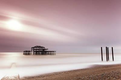 Photograph - West Pier Brighton IIi by Angela Devaney