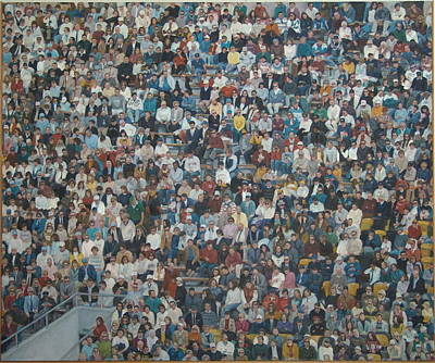 Painting - West Point Crowd by James Sparks