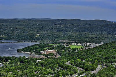 West Point From Storm King Overlook Art Print