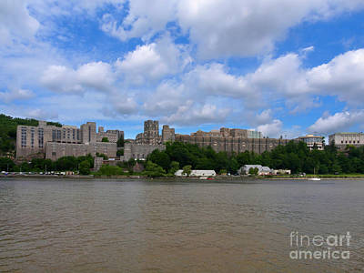 Photograph - West Point From The Hudson River New York by Louise Heusinkveld