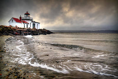West Point Photograph - West Point Light House by Ryan Smith
