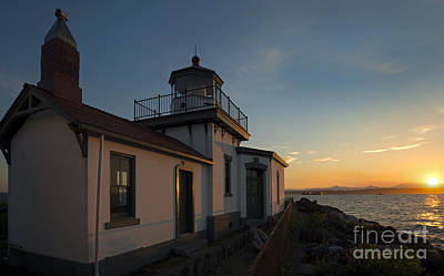 West Point Photograph - West Point Light by Mike Dawson