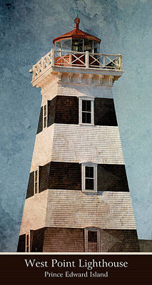 Photograph - West Point Lighthouse 8 by WB Johnston
