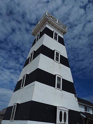Eastcoast Lighthouses Photograph - West Point Lighthouse by David Edward Burton