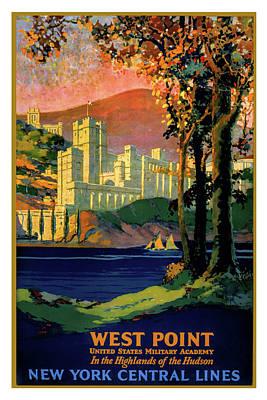 Digital Art - West Point Poster by Carlos Diaz