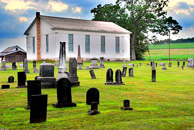 Photograph - West Beaver United Presbyterian Church And Cemetery by Lisa Wooten