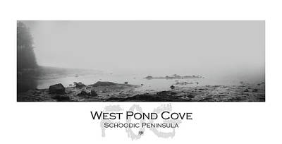 Photograph - West Pond Cove by John Meader