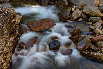 Appalachians Photograph - West Prong Little Pigeon River by Rick Berk