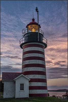 Photograph - West Quoddy Head Lighthouse by Erika Fawcett
