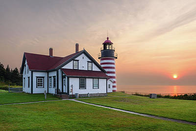 Photograph - West Quoddy Rise by Michael Blanchette