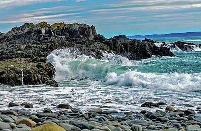 Photograph - West Quoddy Seascape, Maine by Marilyn Burton