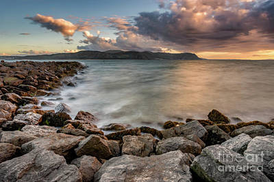 Photograph - West Shore Sunset by Adrian Evans