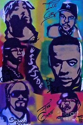 Music Paintings - West Side 2015 by Tony B Conscious