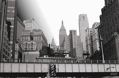Photograph - West Side H'way With Sign For The Brooklyn Battery Tunnel by Mark Alesse