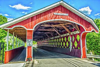 Rowing - West Swanzey Bridge by Gestalt Imagery
