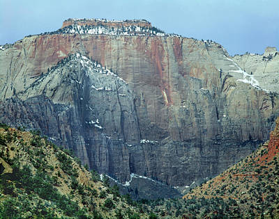 Photograph - 312427-west Temple  by Ed  Cooper Photography