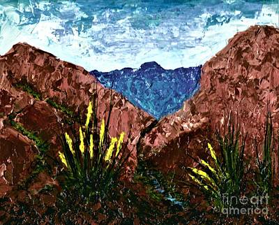 Painting - West Texas  by Allison Constantino