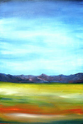 Painting - West Texas Landscape by Frank Botello