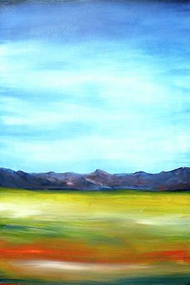 West Texas Landscape Art Print