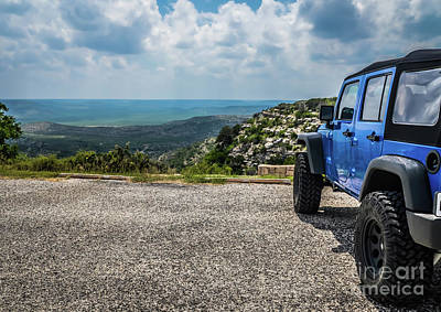 Nitti Photograph - West Texas Overlook by Richard Booth