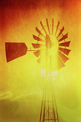 Photograph - West Texas Windmill by Garry McMichael