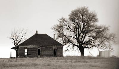 West Texas Winter Original by Marilyn Hunt