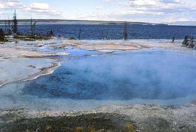 Photograph - West Thumb Geyser Basin Yellowstone National Park by NaturesPix