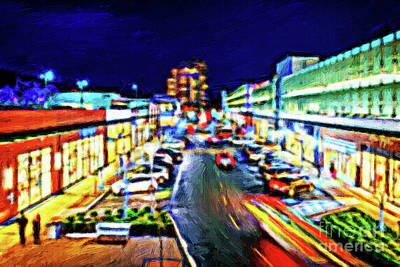 Car Photograph - West Vancouver At Night by Viktor Birkus
