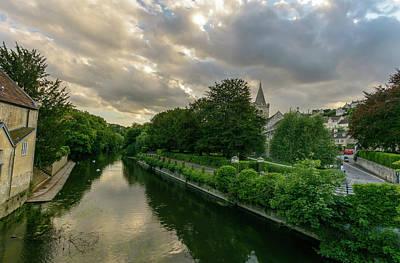 Photograph - West View Over River Avon In Bradford-on-avon by Jacek Wojnarowski