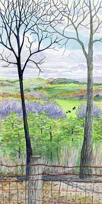 Painting - West Virginia by Anne Marie Brown