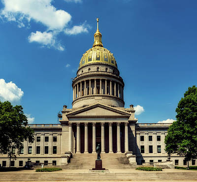 Photograph - West Virginia Capitol - Charleston by L O C