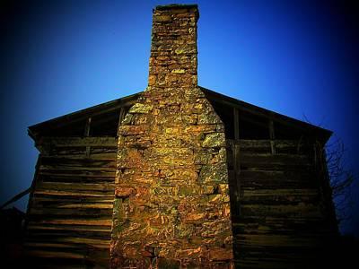 West Virginia Chimney Print by Michael L Kimble