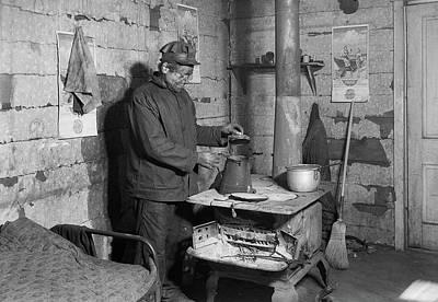 West Virginia Coal Miner 1937 Art Print