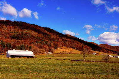 Photograph - West Virginia Farm In Autumn by L O C