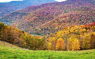 Autumn Photograph - West Virginia High 2 by Steve Harrington