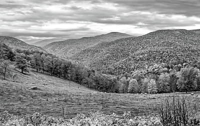 Photograph - West Virginia High 3 Bw by Steve Harrington