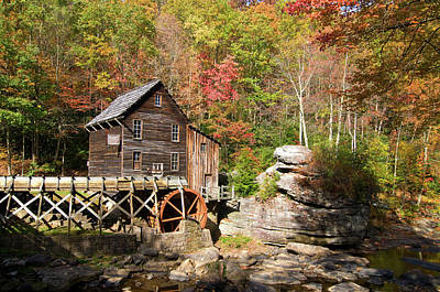 Photograph - West Virginia Mill by Steve Stuller