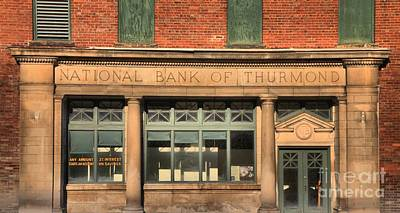 Thurmond Wall Art - Photograph - West Virginia National Bank Of Thurmond by Adam Jewell