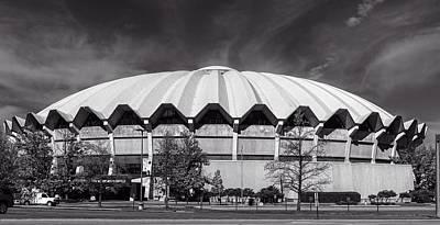 Photograph - West Virginia University Coliseum by L O C