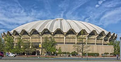 West Virginia University Photograph - West Virginia University Coliseum by Mountain Dreams