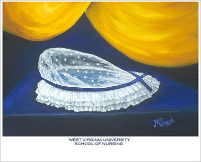 West Virginia University School Of Nursing Art Print