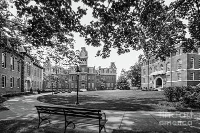 Campus Photograph - West Virginia University Woodburn Circle by University Icons
