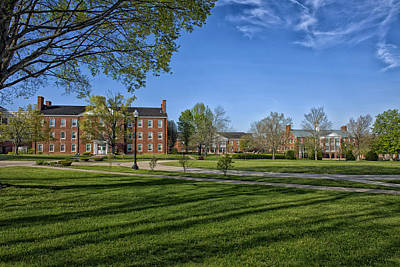 West Virginia University Photograph - West Virginia Wesleyan College Campus by Mountain Dreams