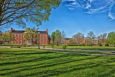 Wesleyan Photograph - West Virginia Wesleyan College by Mountain Dreams